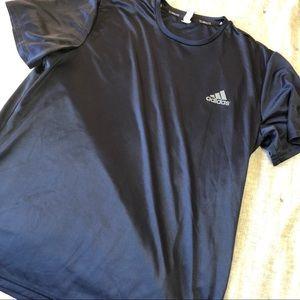 Adidas navy ultimate short-sleeve climalite sz.Xl